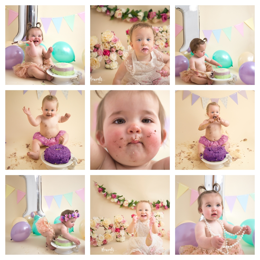 Cake Smash Collage